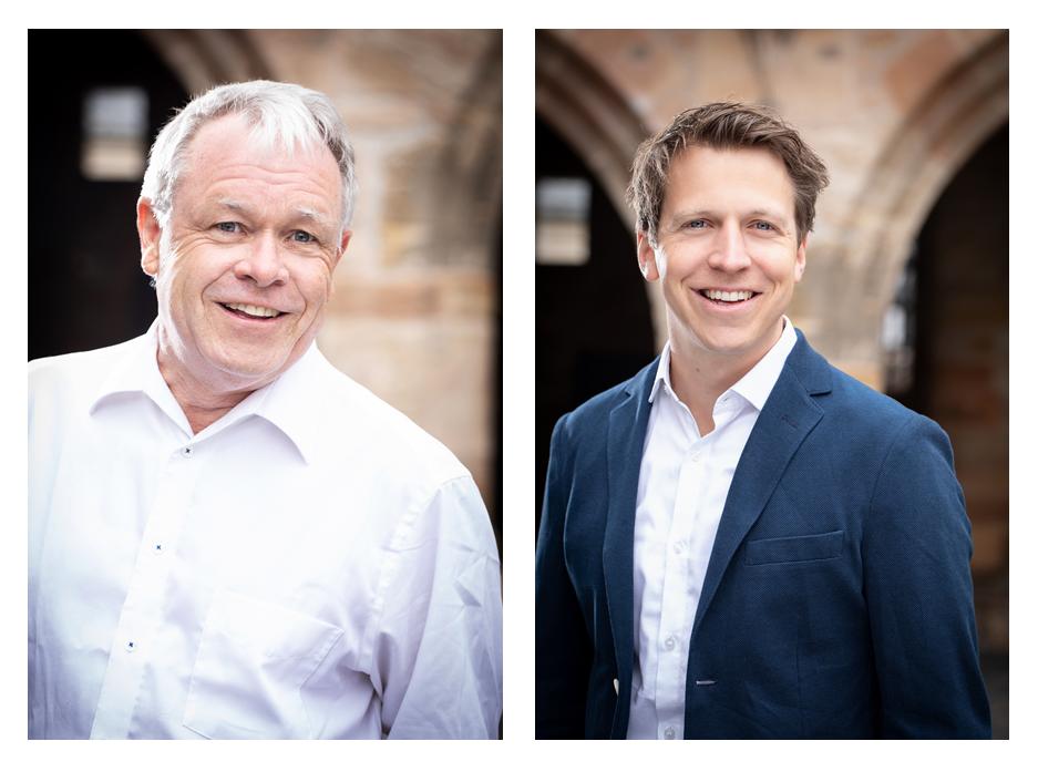 Thomas Hentschel und Moritz Lörcher, Geschäftsführer Projekt-Consult GmbH